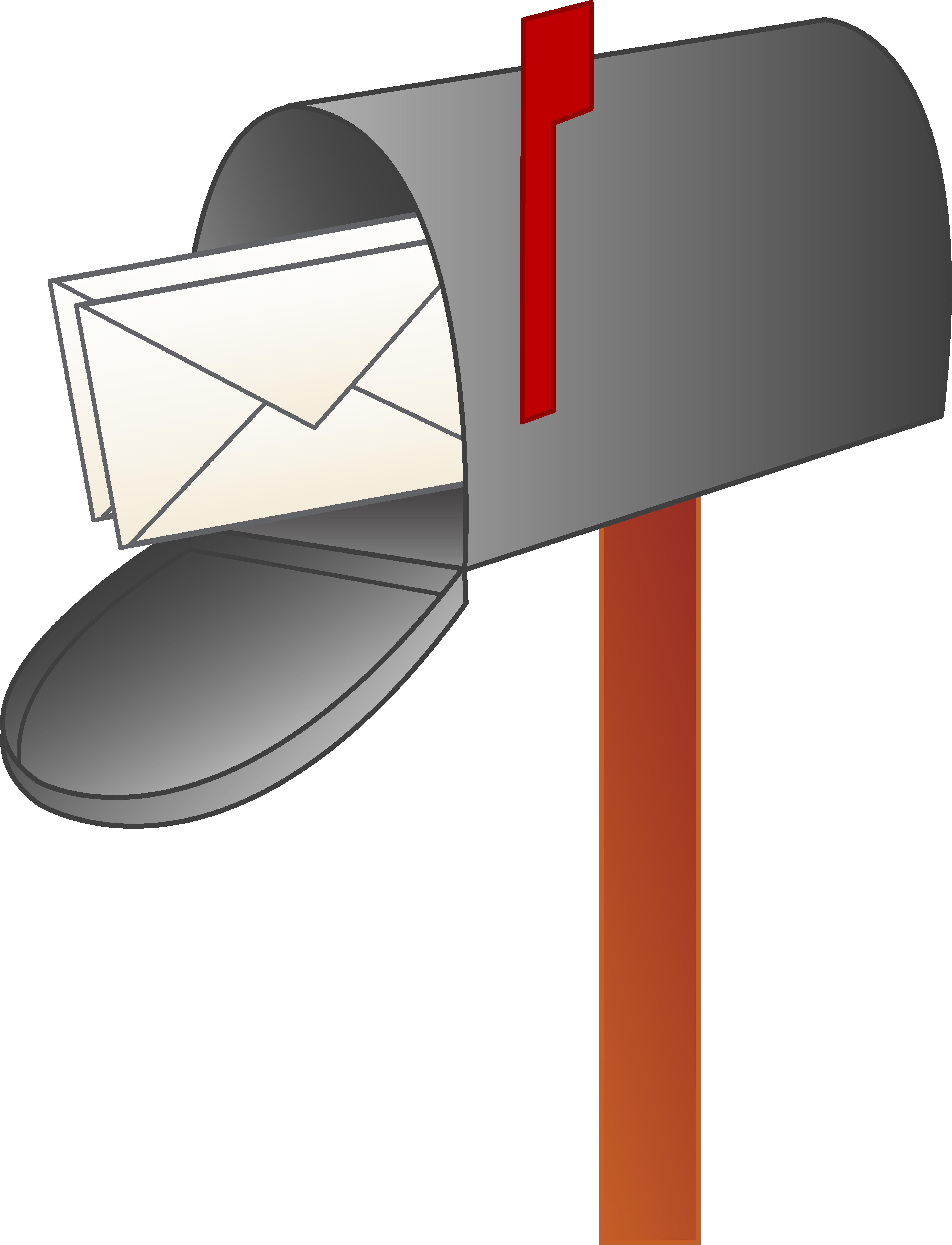5480x7164 Post Box Clipart