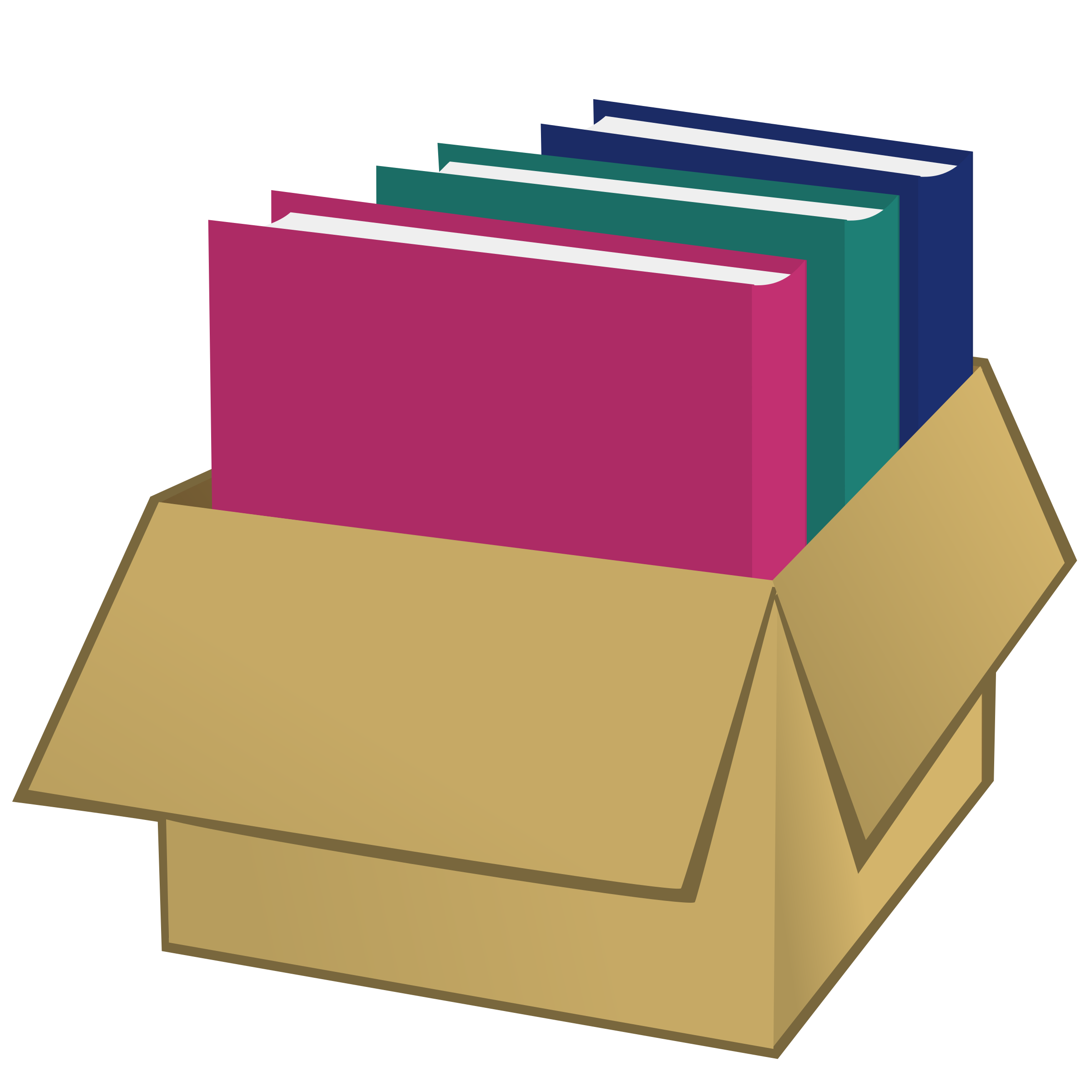 2400x2400 Box Clipart Folder