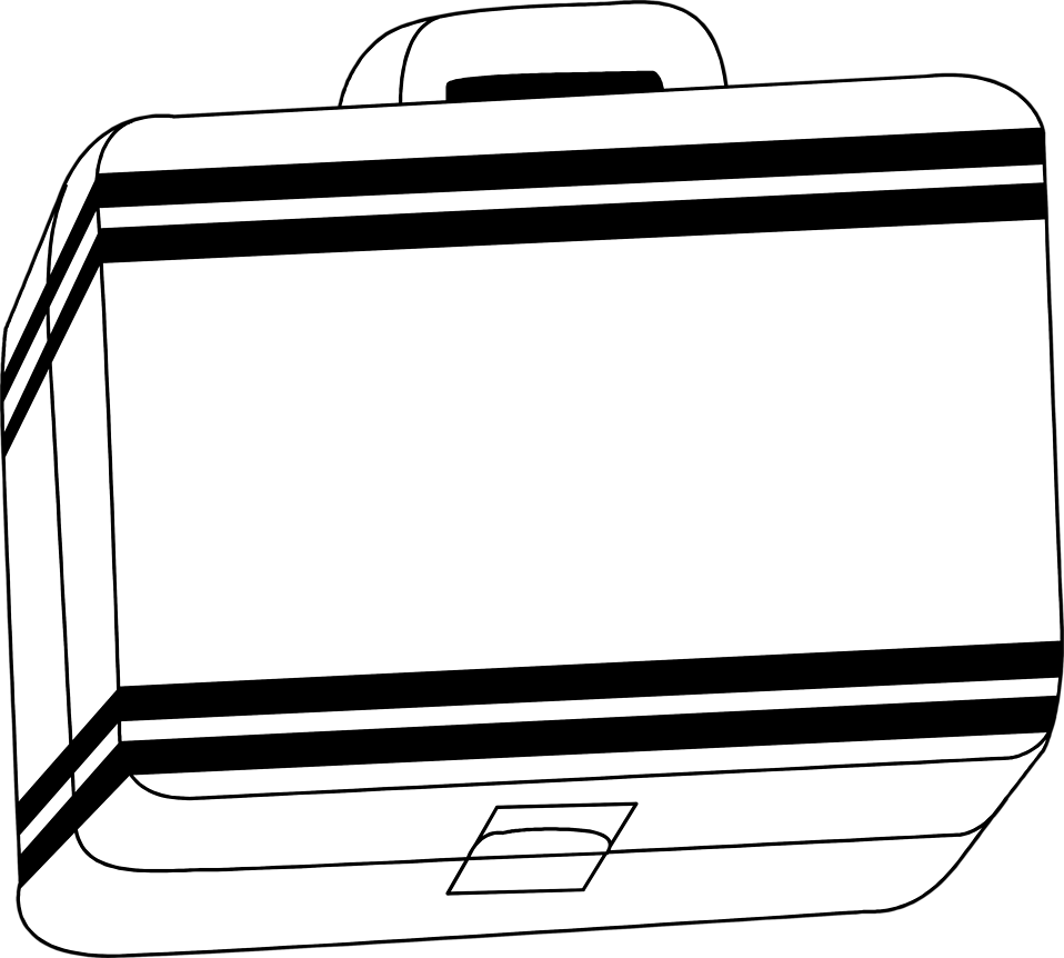 958x862 Free Lunch Box Clipart Image