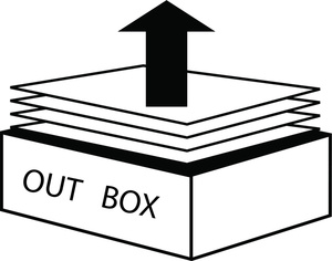 300x236 Out Box Clipart Image