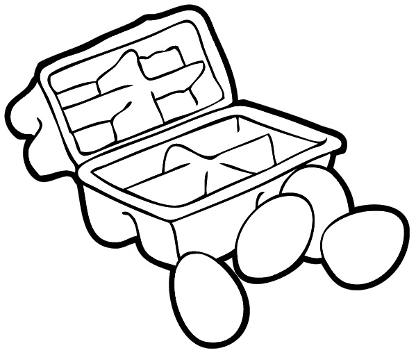 599x511 Outside The Box Clipart
