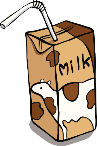 337x508 Chocolate Milk Box Clipart