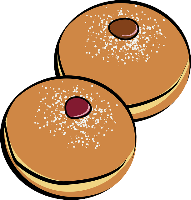 611x640 Donut Clip Art Chocolate Nut