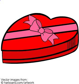 335x355 Download Valentine Chocolate Box