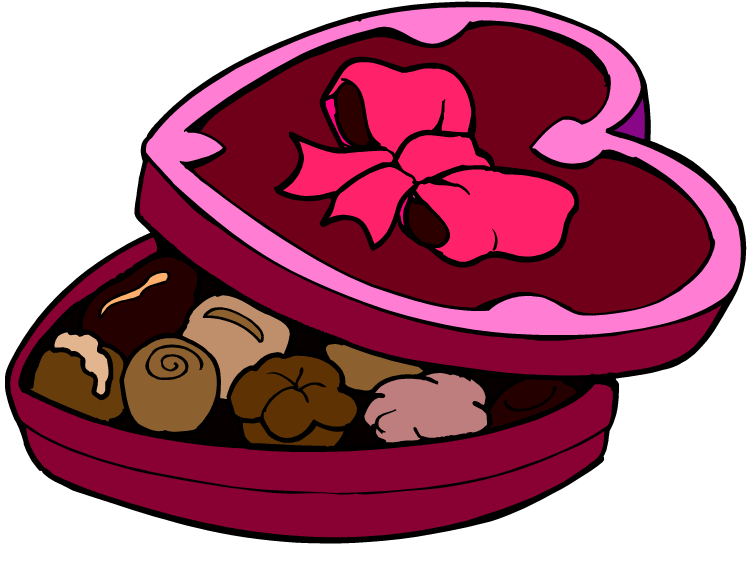 750x572 Bar Clipart Chocolate Box