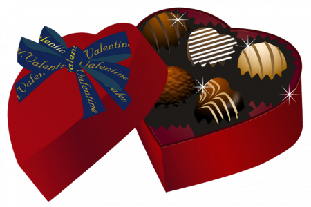 450x300 Box Of Chocolate Clip Art Valentine Chocolate Clipart Clipart Kid