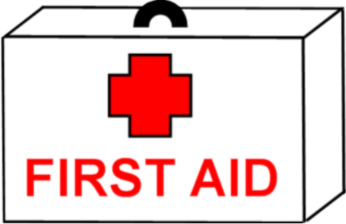 500x324 Medical Clipart First Aid Box