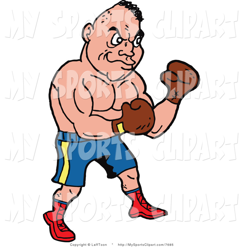1024x1044 Sports Clip Art Of A Male Boxer By Lafftoon