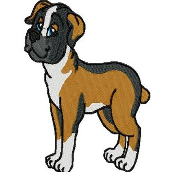 353x353 Boxer Dog Clipart Boxer Dog Clip Art Clip Art Library Download