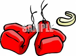 Boxing Gloves Art Clipart