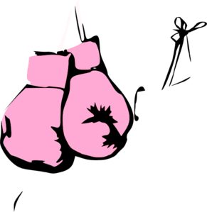 291x299 Pink Boxing Gloves Clip Art