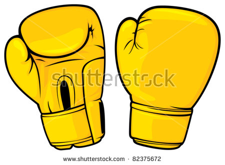 450x331 Yellow Clipart Boxing Glove