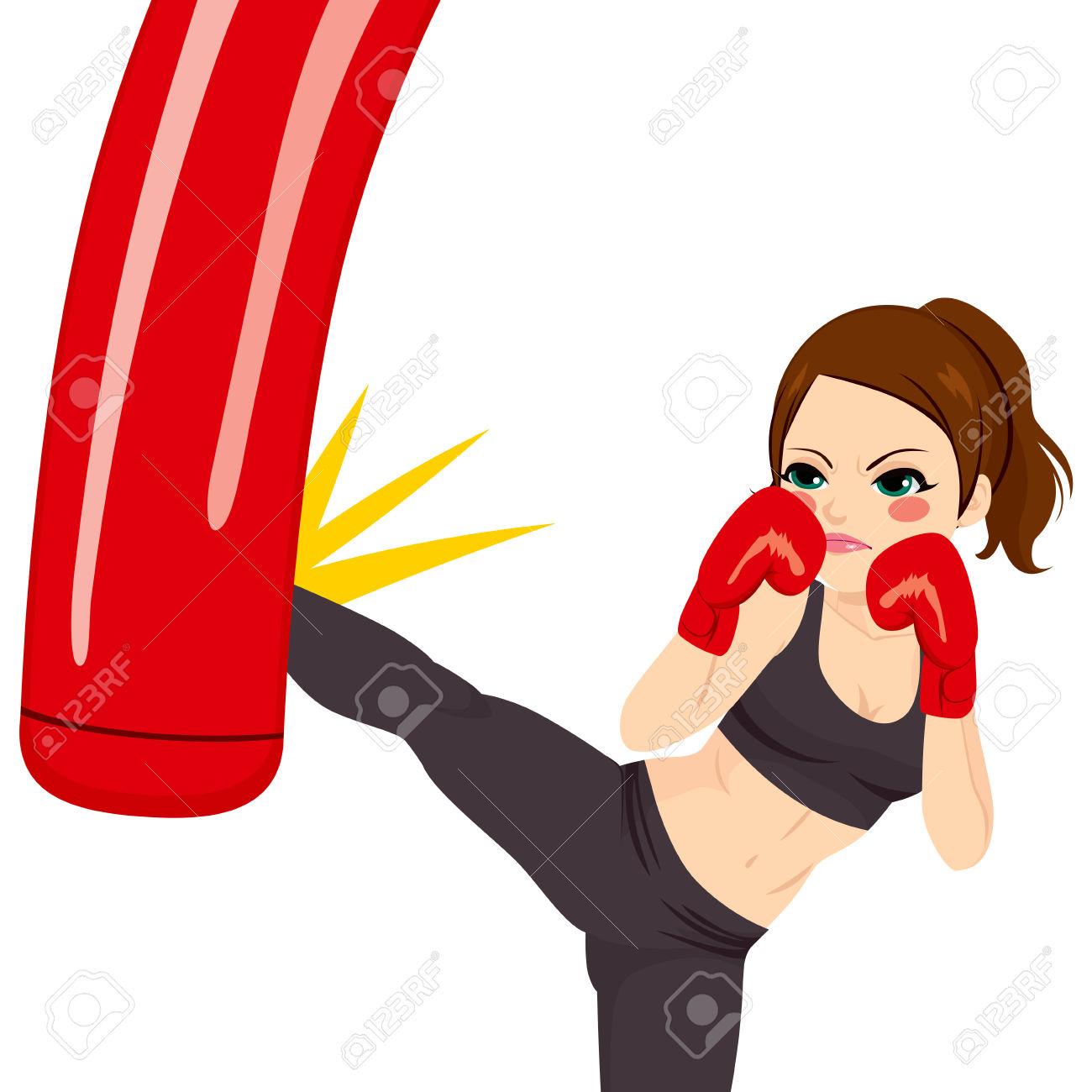 1300x1300 Boxer Clipart Boxing Bag