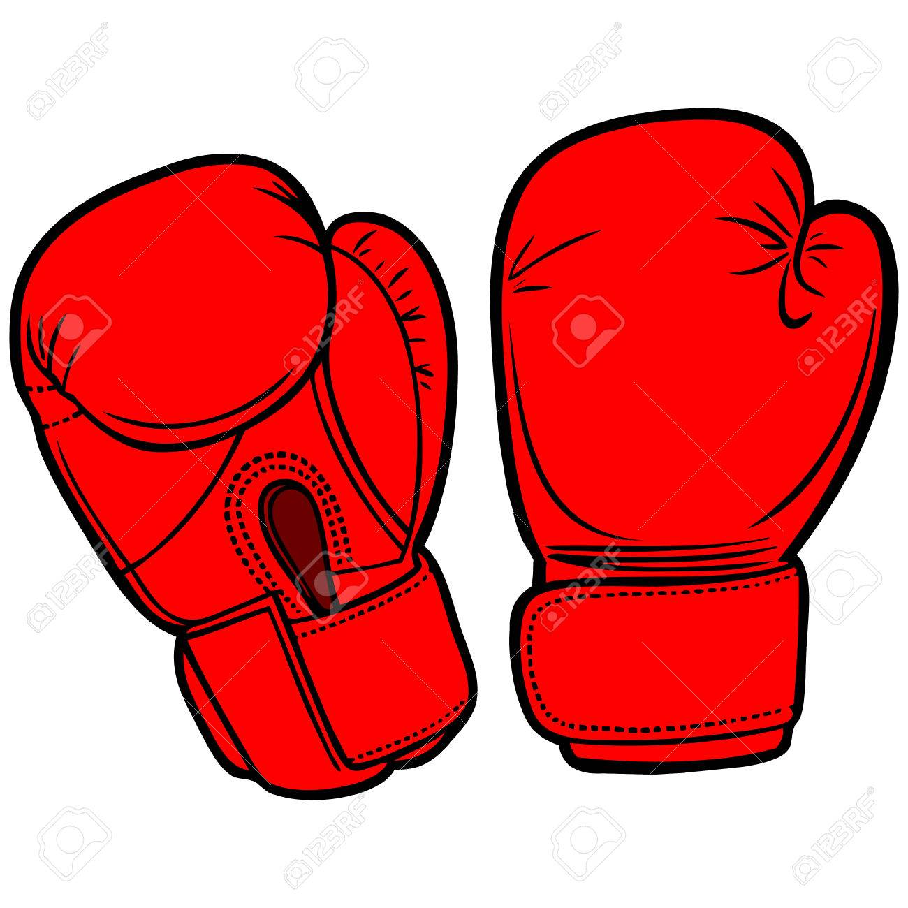 1300x1300 Boxing Gloves Royalty Free Cliparts, Vectors, And Stock