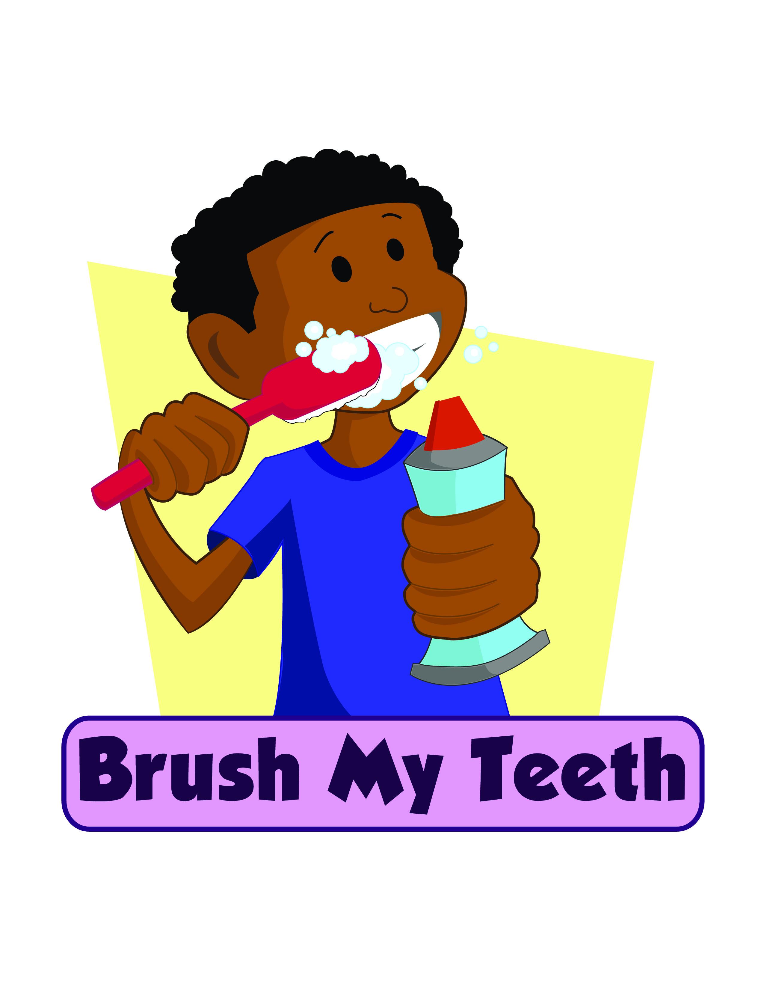 2550x3300 Brush Clipart Brushing Tooth