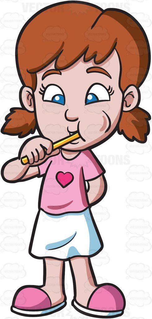 489x1024 Brush Teeth Boy Brushing Clipart Co Image