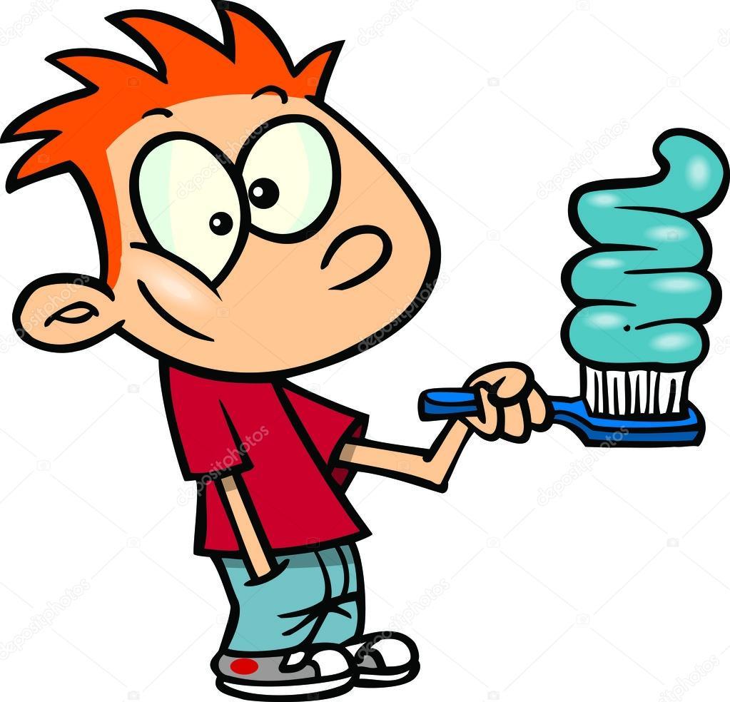 1023x984 Cartoon Boy Brushing Teeth Clipart