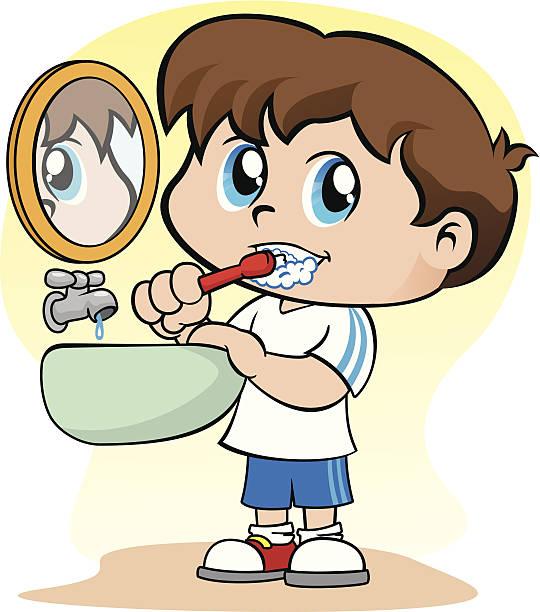 540x612 Teeth Clipart Boy