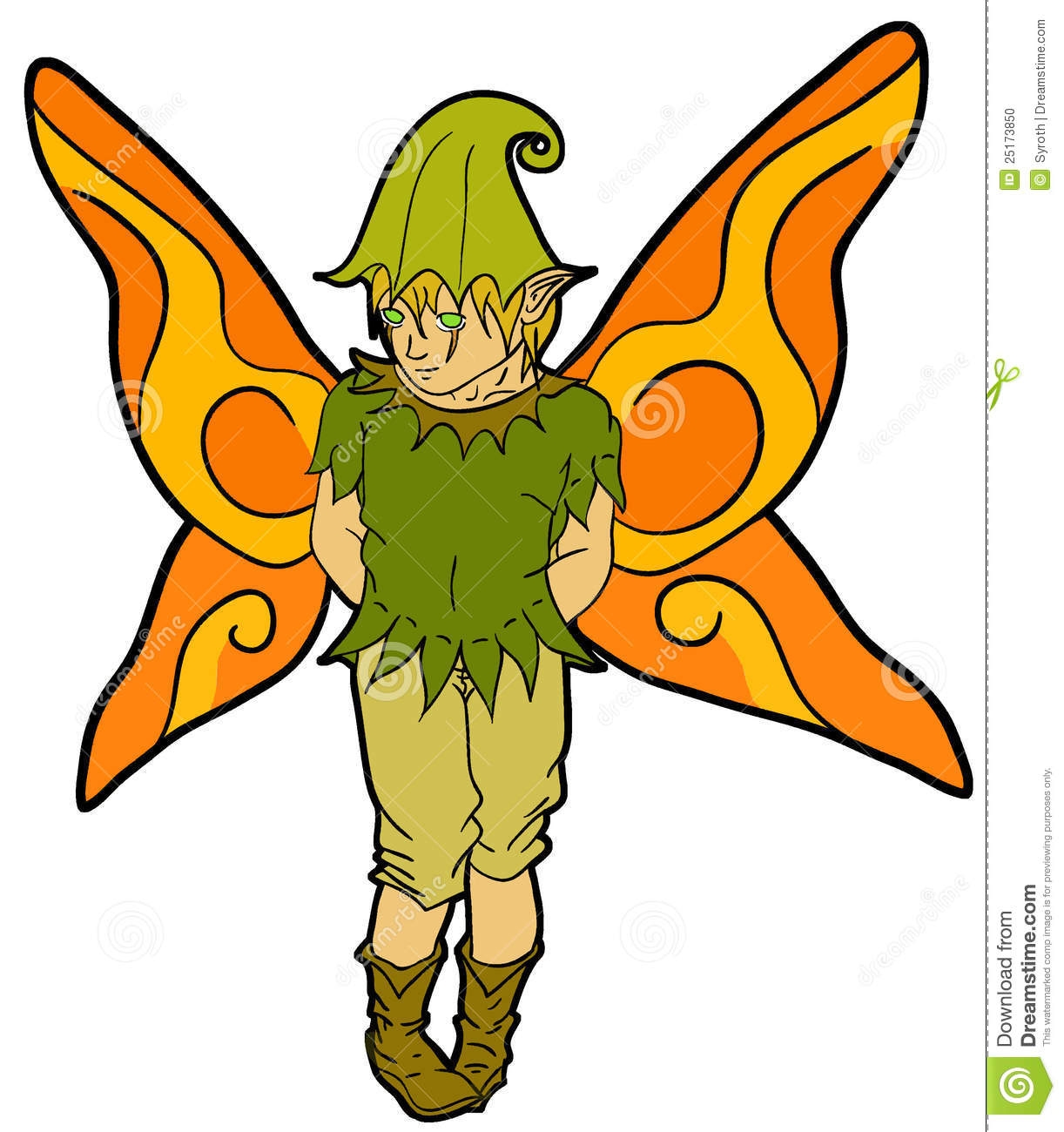 Fairy boy. Clipart free download best