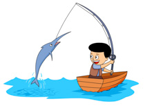 210x153 Fishing Clipart