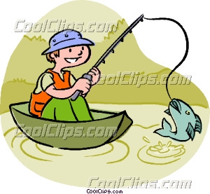 300x277 Fishing Clipart Catch Fish