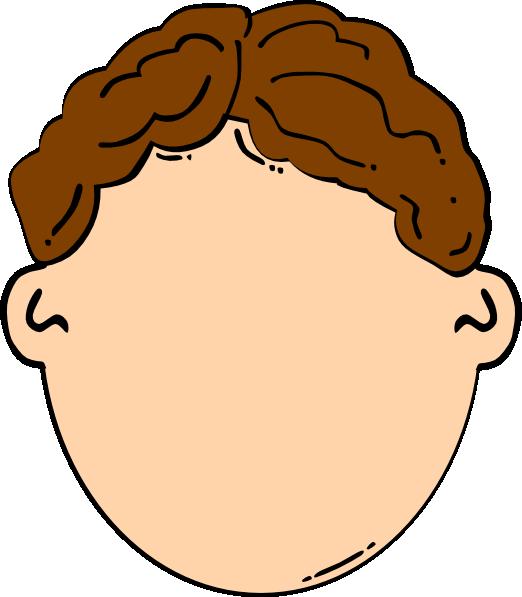522x597 Brown Hair Boy Clip Art