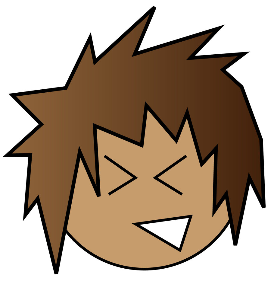 900x931 Brown Hair Clipart Animated