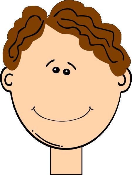 450x598 Happy Brown Hair Boy Clip Art