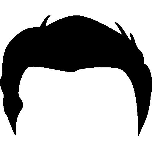 512x512 Short Hair Clipart Boy Hair