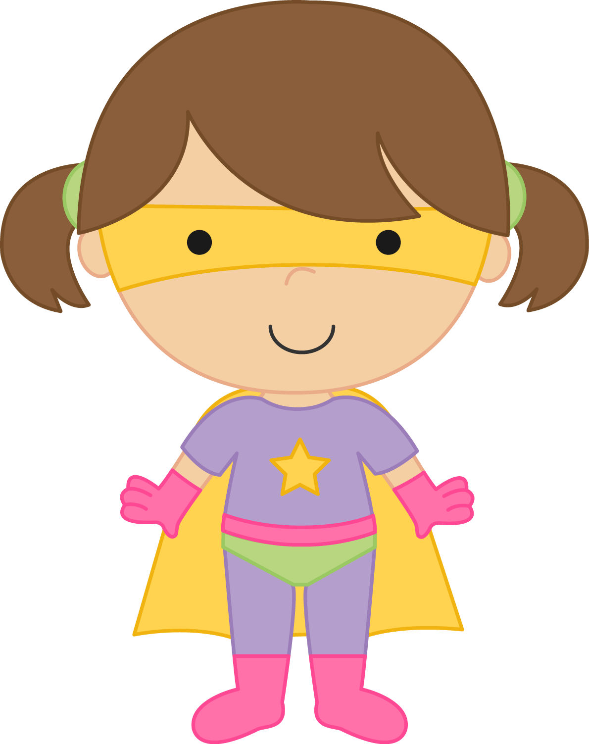 1190x1503 Generic Super Boy And Super Girl Clipart