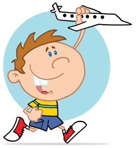 277x300 Toy Airplane Clipart Image