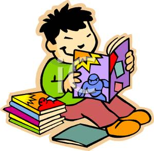 300x294 Reading Clip Art