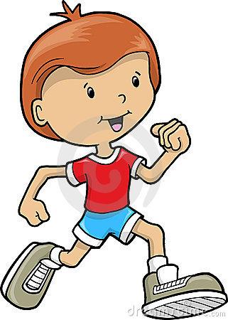 321x450 Little Boy Clipart Run