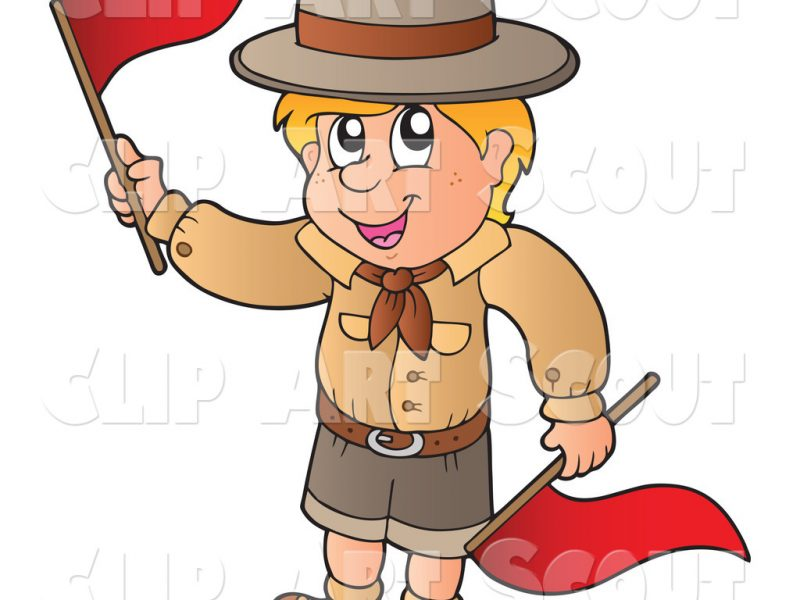 800x600 Boy Scout Clip Art Inderecami Drawing
