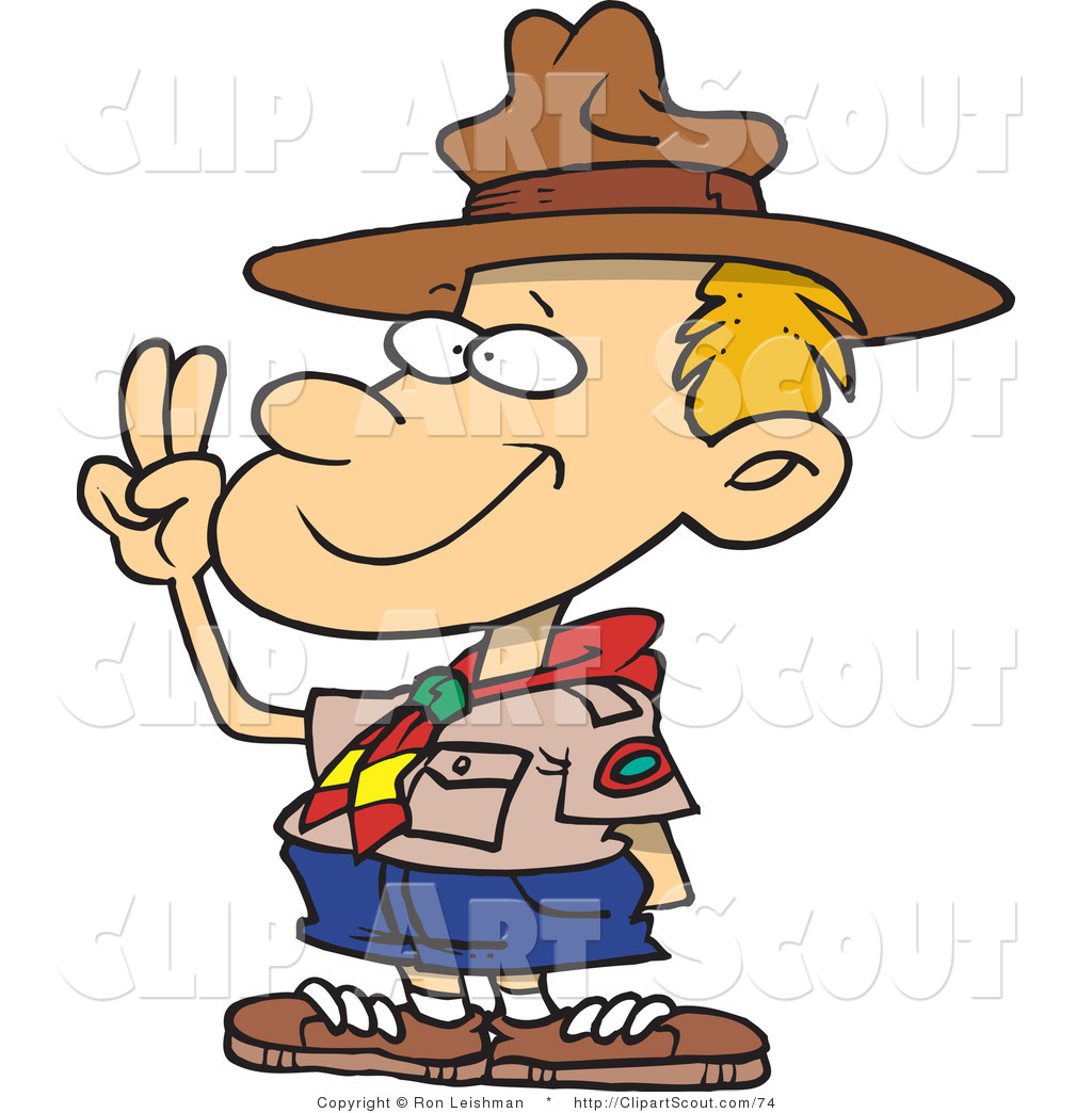 1024x1044 Scout Leader Clipart