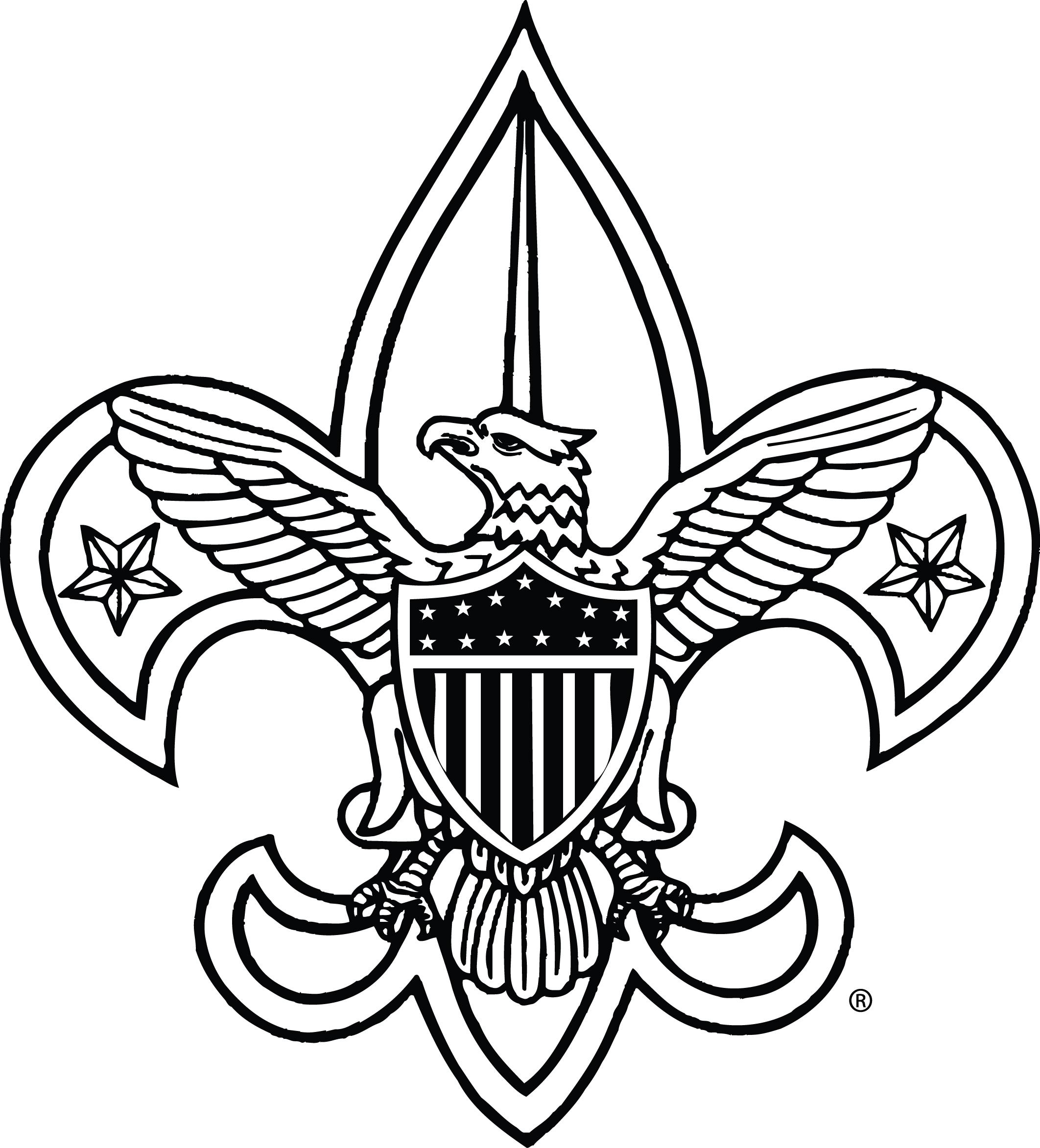 2124x2345 Boy Scout Symbol Clipart