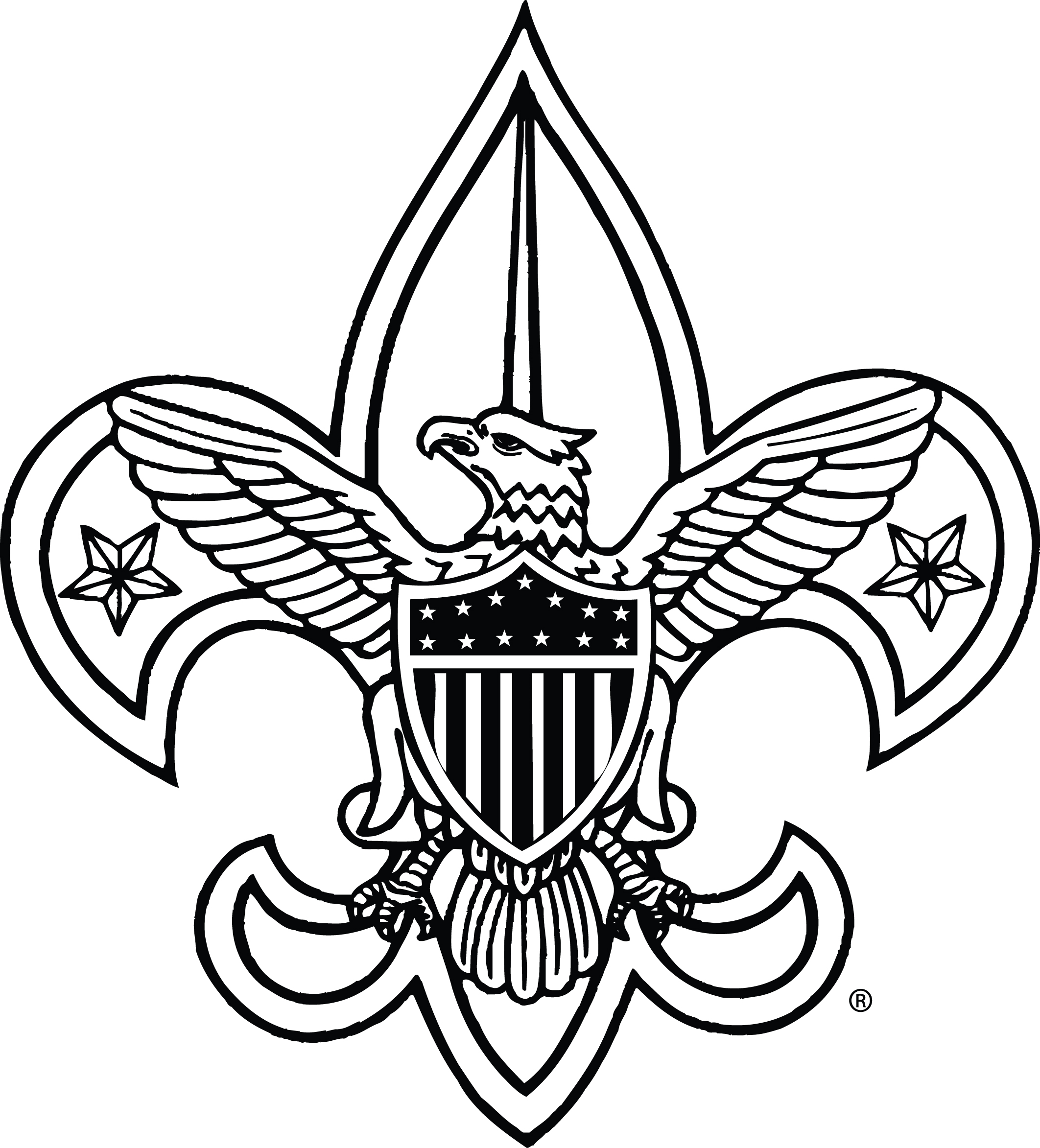 2124x2345 Eagle Boy Scout Emblem Clipart