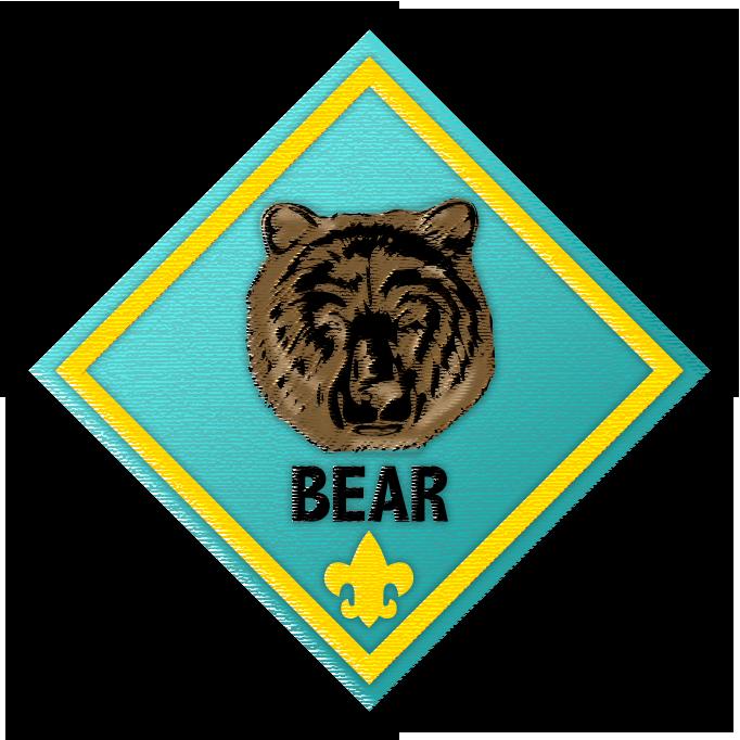 682x682 Cub Scout Bear Clipart