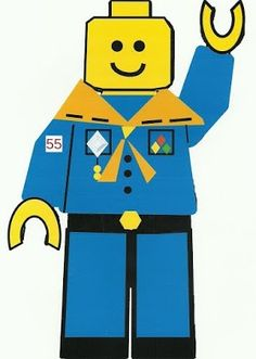236x331 Lego Cub Scout Coloring Page