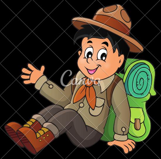 550x544 Boy Scout Icon