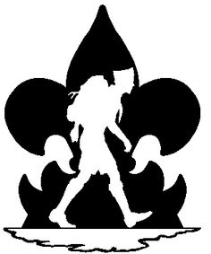 236x283 Boy Scout Hiking Clip Art