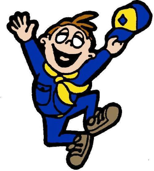 500x554 Cub scout symbol clipart kid