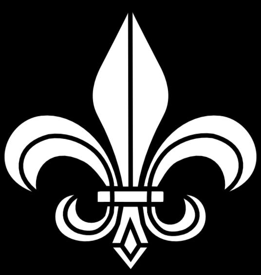 536x564 Fleur De Lis Boy Scout Clipart Opaque
