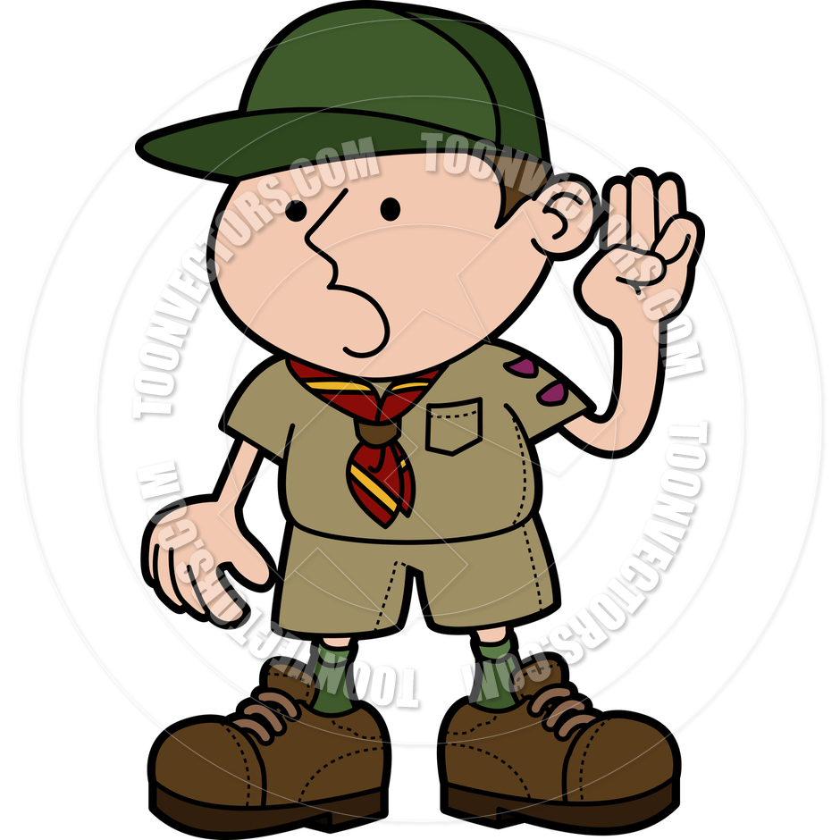 940x940 Illustration Of Boy Scout By Geoimages Toon Vectors Eps