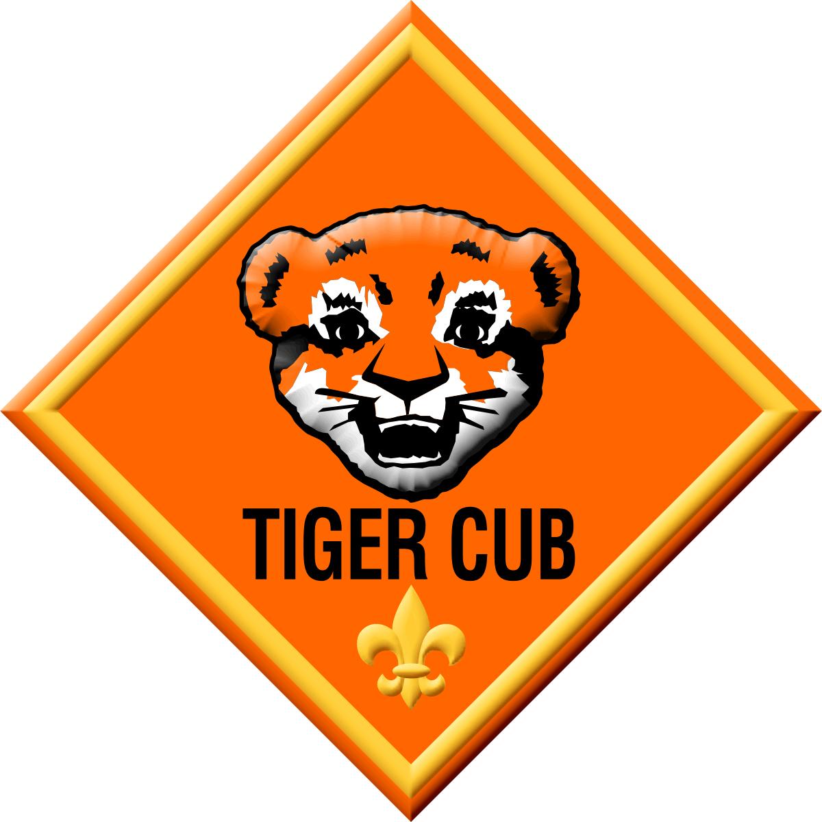 1200x1200 Cub Scouts Tiger Insignia Clipart