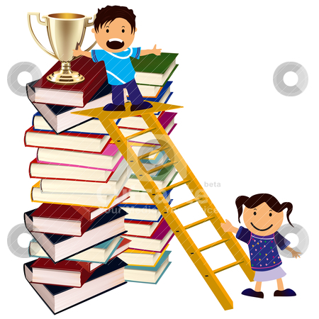 450x450 Book Clipart Ladder