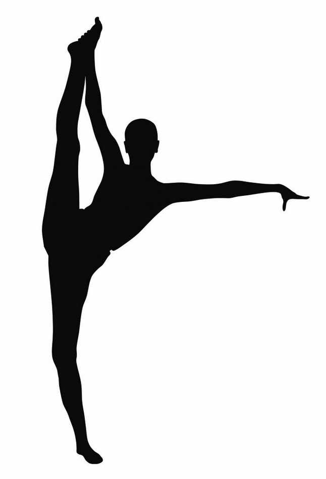 646x949 Gymnast Clip Art