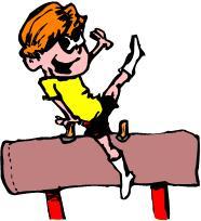 186x204 Top 87 Gymnastics Clip Art