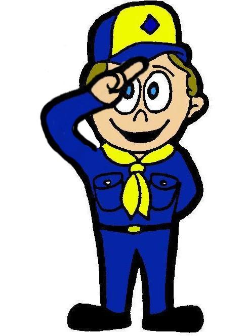 488x664 Boy Scout Emblem Clipart
