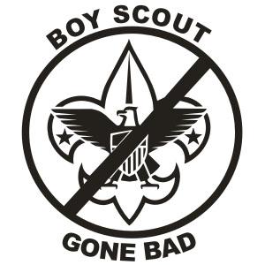 300x300 Boy Scout Gone Bad Decal